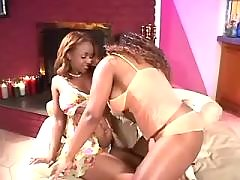 black lesbians with strapon in orgy